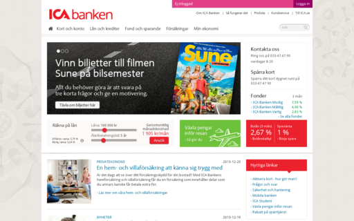 Access icabanken.se using Hola Unblocker web proxy