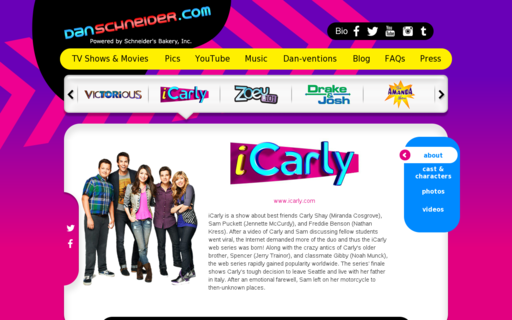 Access icarly-danschneider.com using Hola Unblocker web proxy