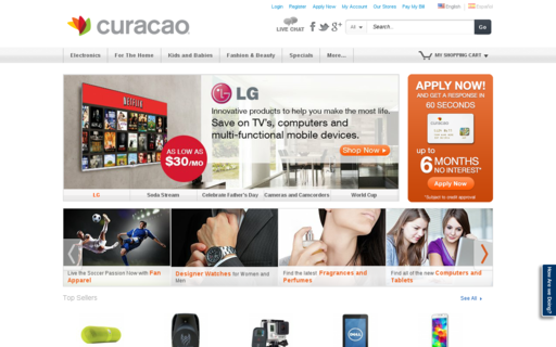 Access icuracao.com using Hola Unblocker web proxy