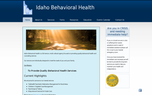 Access idahobehavior.com using Hola Unblocker web proxy