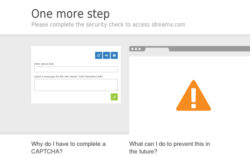 Access idreamx.com using Hola Unblocker web proxy