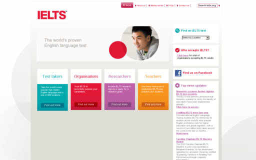 Access ielts.org using Hola Unblocker web proxy