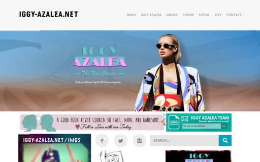 Access iggy-azalea.net using Hola Unblocker web proxy