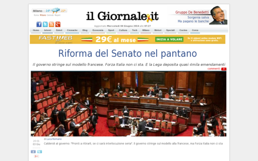 Access ilgiornale.it using Hola Unblocker web proxy