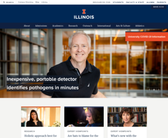 Access illinois.edu using Hola Unblocker web proxy