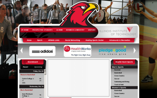 Access illinoistechathletics.com using Hola Unblocker web proxy