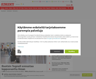Access iltalehti.fi using Hola Unblocker web proxy