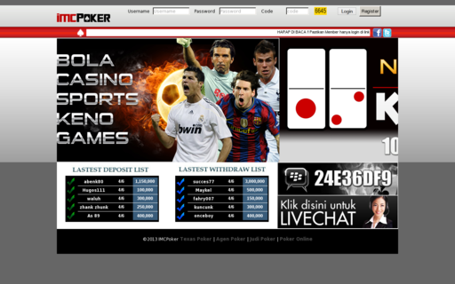 Access imcpoker.com using Hola Unblocker web proxy