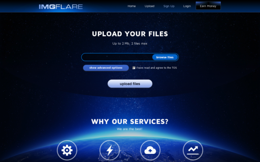 Access imgflare.com using Hola Unblocker web proxy