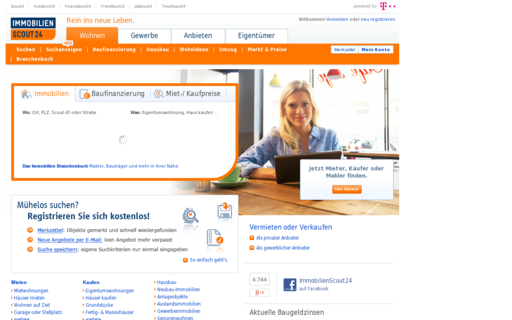 Access immobilienscout24.de using Hola Unblocker web proxy