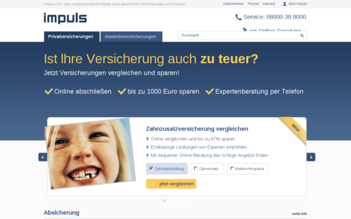 Access impuls-ag.de using Hola Unblocker web proxy
