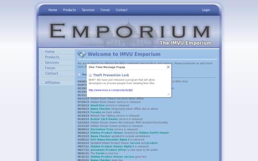 Access imvu-e.com using Hola Unblocker web proxy