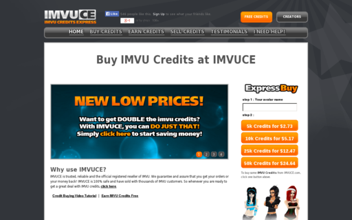 Access imvuce.com using Hola Unblocker web proxy