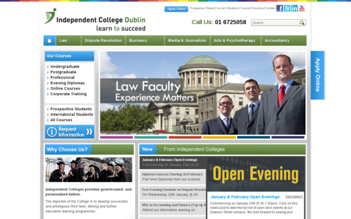 Access independentcolleges.ie using Hola Unblocker web proxy