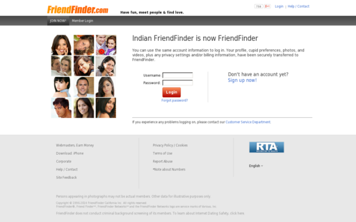 Access indianfriendfinder.com using Hola Unblocker web proxy