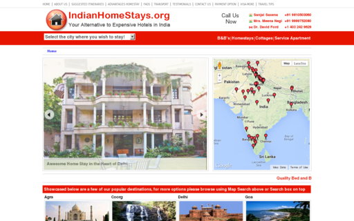 Access indianhomestays.org using Hola Unblocker web proxy