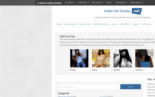 Access indiansexstories.net using Hola Unblocker web proxy