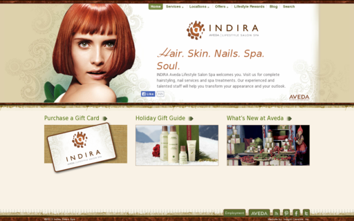 Access indirasalonspa.com using Hola Unblocker web proxy