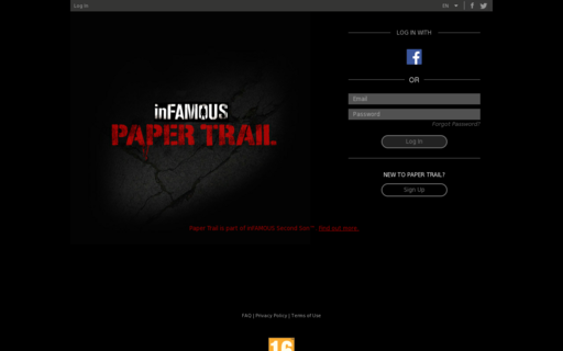 Access infamouspapertrail.com using Hola Unblocker web proxy