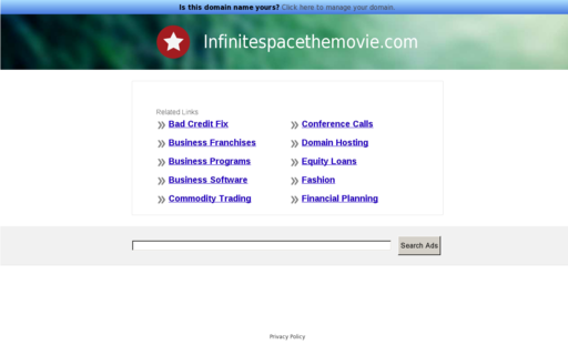 Access infinitespacethemovie.com using Hola Unblocker web proxy
