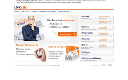 Access ing.pl using Hola Unblocker web proxy