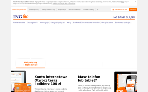 Access ingbank.pl using Hola Unblocker web proxy