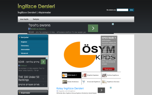 Access ingilizcedersin.com using Hola Unblocker web proxy