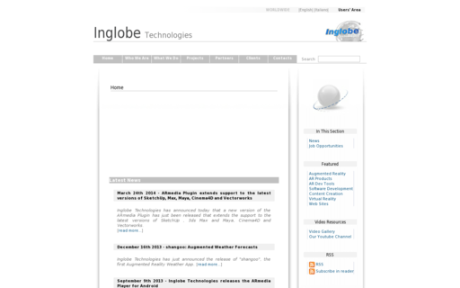Access inglobetechnologies.com using Hola Unblocker web proxy