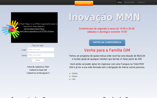 Access inovacaommn.com.br using Hola Unblocker web proxy