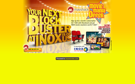 Access inoxmovies.com using Hola Unblocker web proxy
