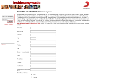 Access insidesonymusic.de using Hola Unblocker web proxy