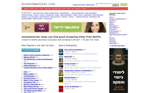 Access instantwatcher.com using Hola Unblocker web proxy