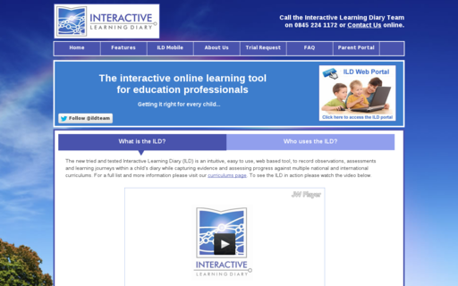 Access interactivelearningdiary.co.uk using Hola Unblocker web proxy