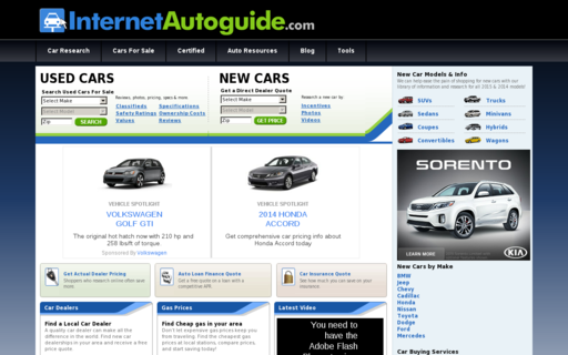 Access internetautoguide.com using Hola Unblocker web proxy