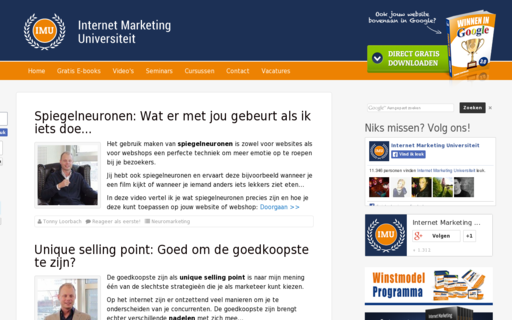 Access internetmarketinguniversiteit.nl using Hola Unblocker web proxy