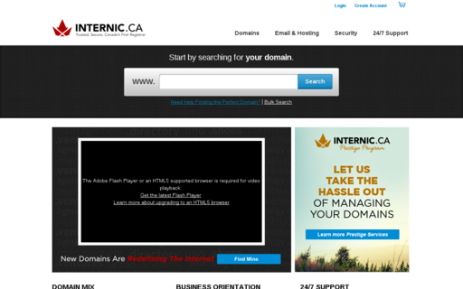 Access internic.ca using Hola Unblocker web proxy