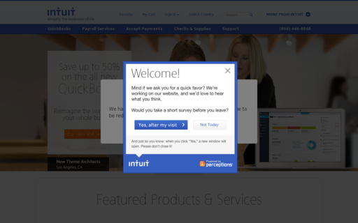 Access intuit.com using Hola Unblocker web proxy
