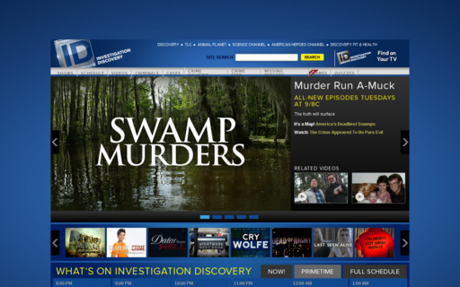 Access investigationdiscovery.com using Hola Unblocker web proxy