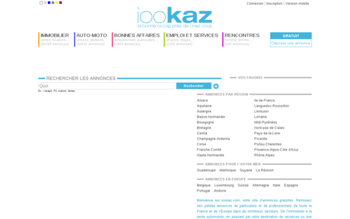Access iookaz.com using Hola Unblocker web proxy