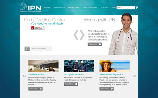 Access ipn.com.au using Hola Unblocker web proxy