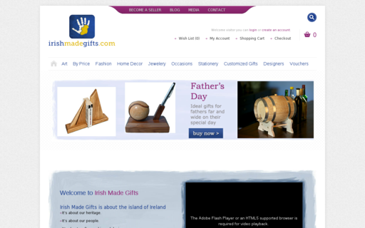 Access irishmadegifts.com using Hola Unblocker web proxy