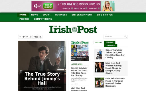 Access irishpost.co.uk using Hola Unblocker web proxy