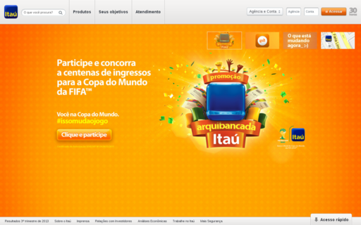 Access itau.com.br using Hola Unblocker web proxy