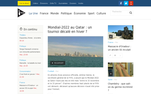 Access itele.fr using Hola Unblocker web proxy