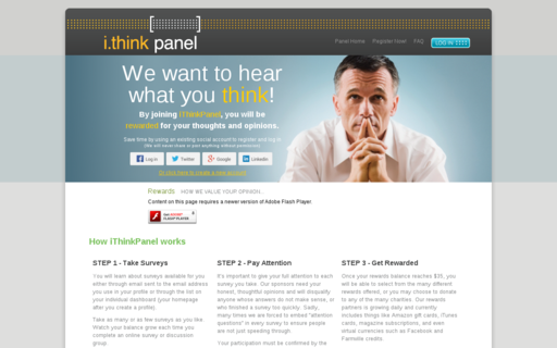 Access ithinkpanel.com using Hola Unblocker web proxy