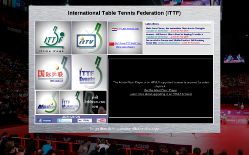 Access ittf.com using Hola Unblocker web proxy