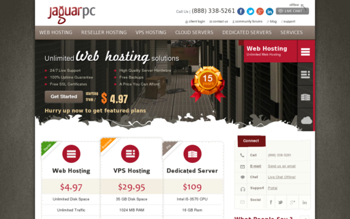Access jaguarpc.com using Hola Unblocker web proxy