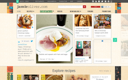 Access jamieoliver.com using Hola Unblocker web proxy