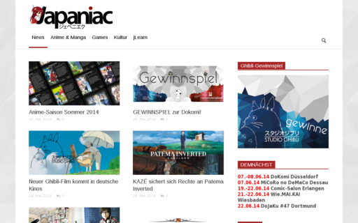 Access japaniac.de using Hola Unblocker web proxy