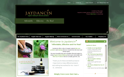 Access jaydancin.com using Hola Unblocker web proxy